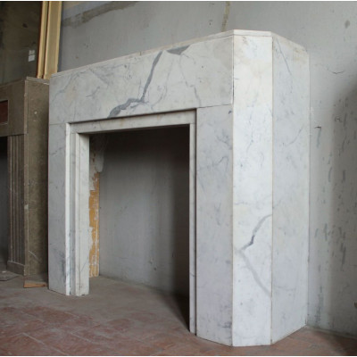 707 CAMINO DECO' IN FINISSIMO MARMO ARABESCATO CARRARA