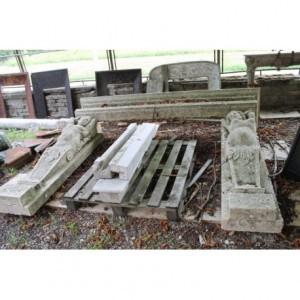 015 (0057) MONUMENTALE CAMINO PRIMI NOVECENTO (PERIODO LIBERTY)