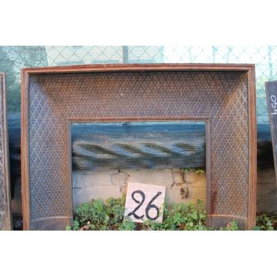 CG 026 (0011) RAFFINATO CAMINO-CONTROCUORE A TAPISSERIE