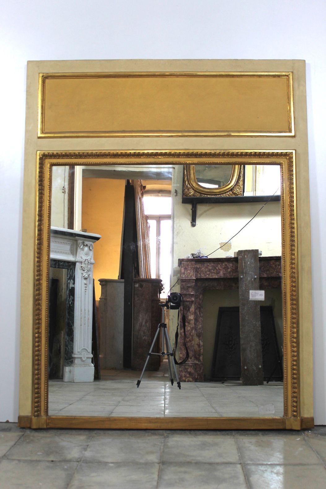 207M (0001) CAMINIERA A PANNELLO D'EPOCA NAPOLEONE III