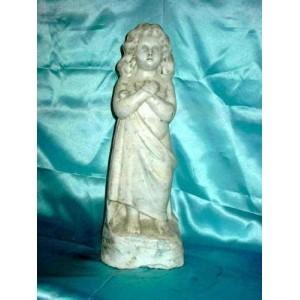 035 Statuetta raffigurante bimba ottocentesca